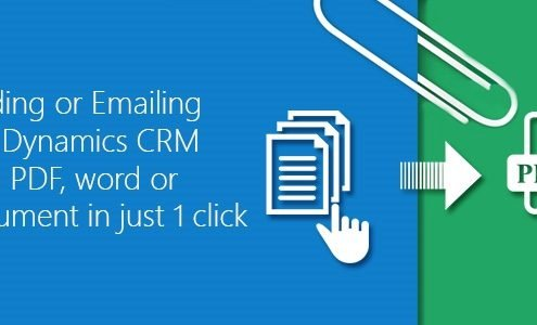 Downloading or Emailing Microsoft Dynamics CRM reports as PDF, word or excel document in just 1 click